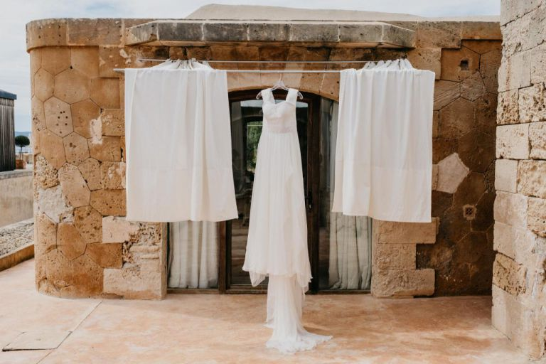 wedding dress mallorca